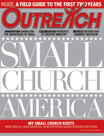Small Church America - 2013 July/August Outreach issue